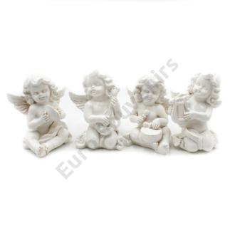 ANGYAL 4/240 4 FÉLE 6x10 cm fehér