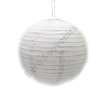LAMPION 1/500 FEHÉR 25 CM